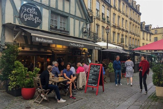 Que ver en Caen Vagueaux Restaurantes