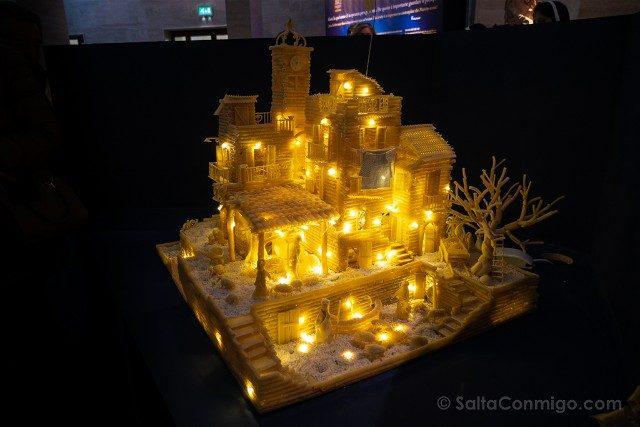 Que ver en Roma en Navidad Exposicion Belenes Pasta