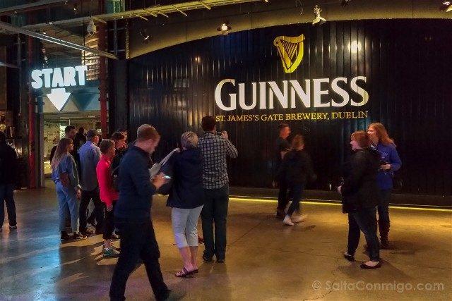 Fabrica de Guinness Dublin Entrada