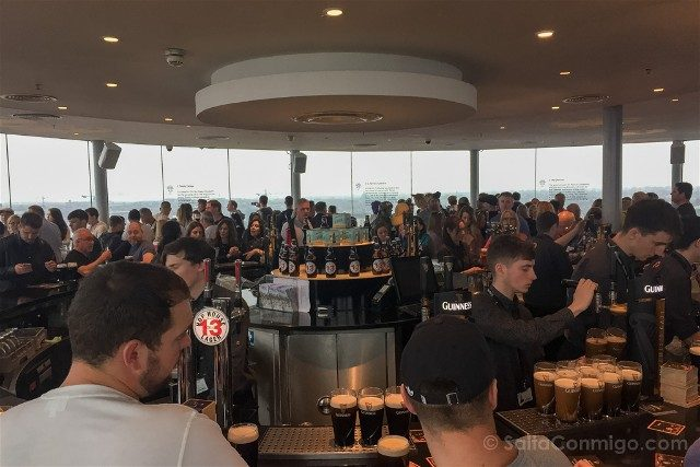 Fabrica de Guinness Dublin Gravity Bar