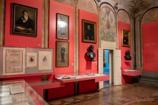 Museo Internacional Biblioteca de la Musica de Bolonia Sala Opera