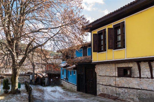Que ver en Koprivshtitsa Casas Colores