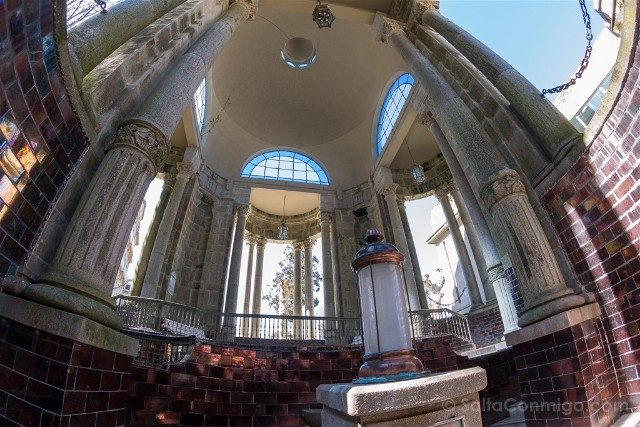 Que ver en Mondariz-Balneario Fuente Gandara Columnada