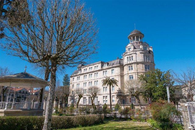Que ver en Mondariz Balneario Hotel Edificio Antonio Palacios