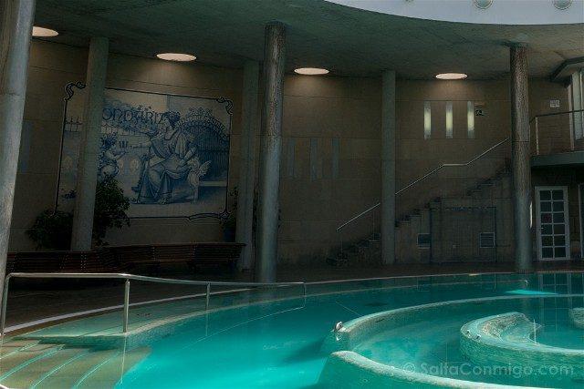 Que ver en Mondariz Balneario Palacio Agua Azulejos