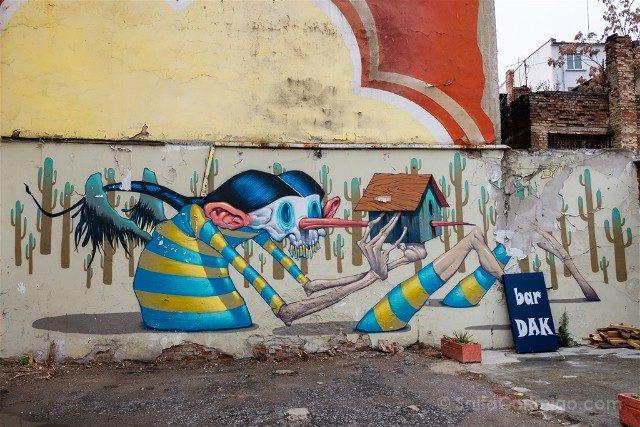 Que ver en Sofia Grafiti Antract Bozko