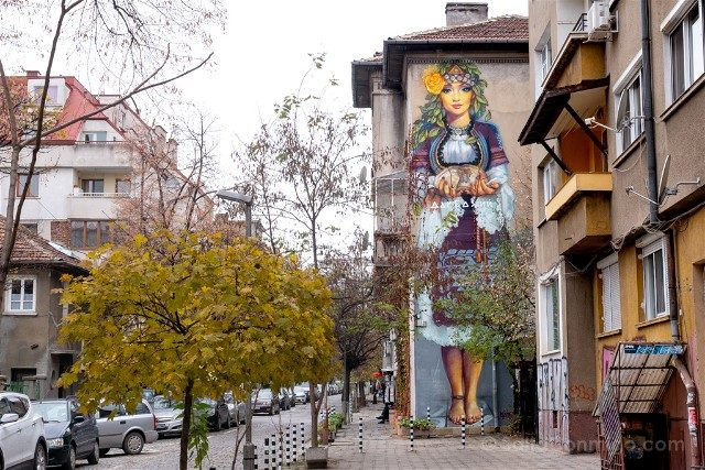 Que ver en Sofia Grafiti Regalo de Dios Nasimo