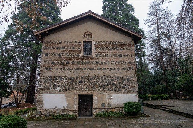 Que ver en Sofia Iglesia Boyana Exterior