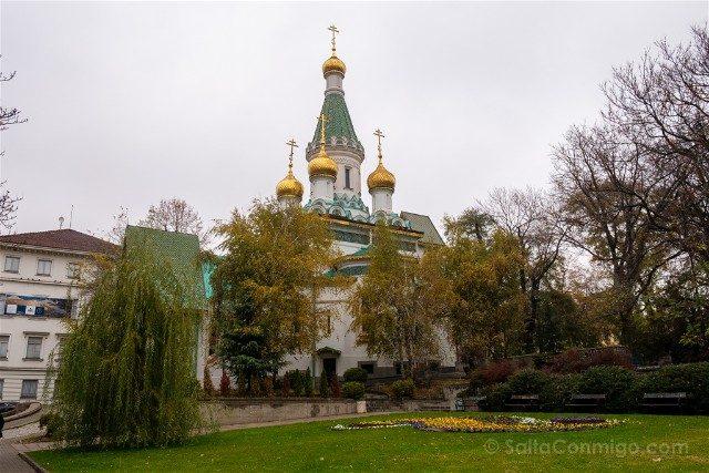 Que ver en Sofia Iglesia San Nicolas Rusa