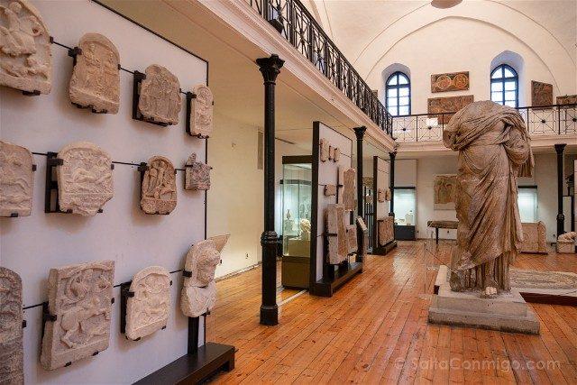 Que ver en Sofia Museo Arqueologico Sala
