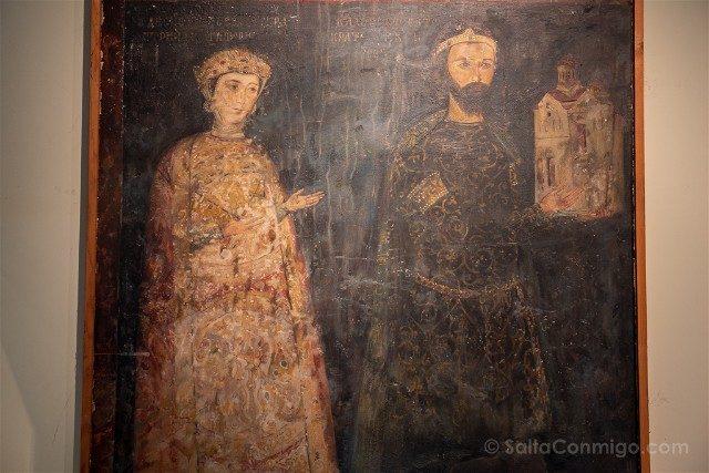 Que ver en Sofia Museo Nacional Historia Fresco Boyana Costantino