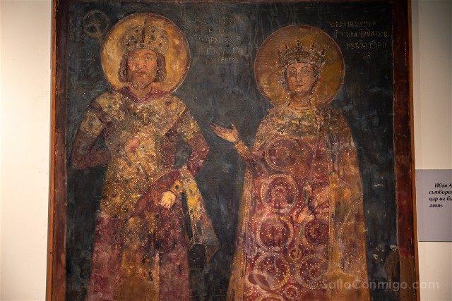 Que ver en Sofia Museo Nacional Historia Fresco Boyana Kaloyan