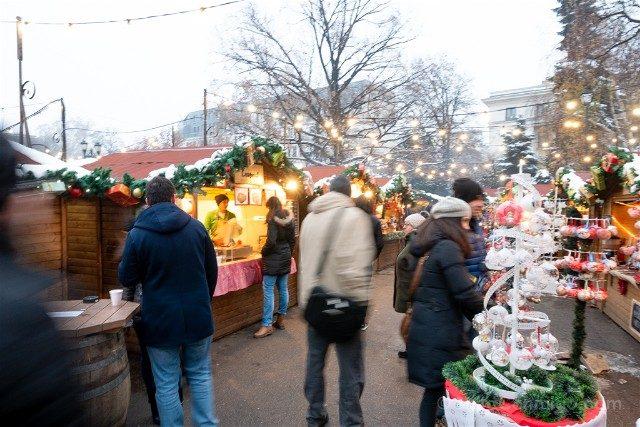 Que ver en Sofia Parque Ciudad Mercadillo Navidad
