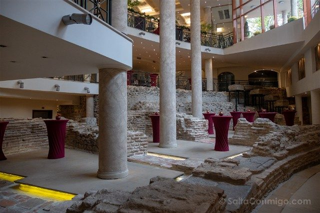 Que ver en Sofia Restos Romanos Hotel Arena Serdica