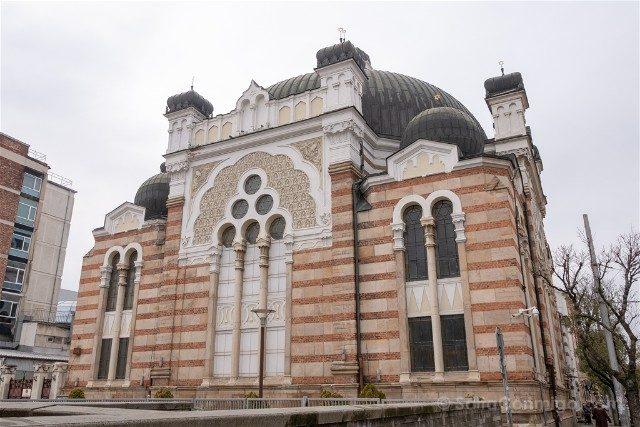 Que <ver en Sofia Sinagoga Exterior