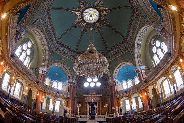 Que ver en Sofia Sinagoga Interior