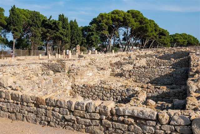 Ruinas de Empuries Ciudad Griega Pinar