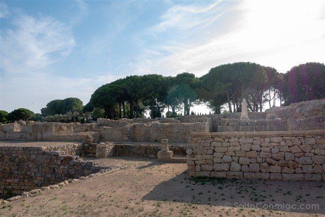 Ruinas de Empuries Ciudad Griega Templo Asclepio