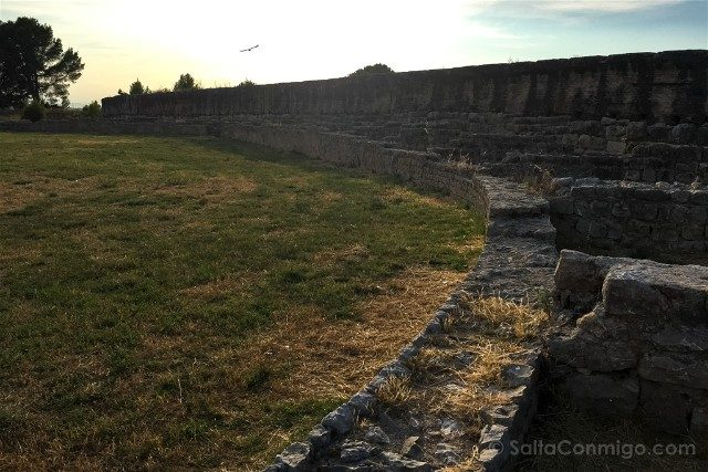 Ruinas de Empuries Ciudad Romana Anfiteatro