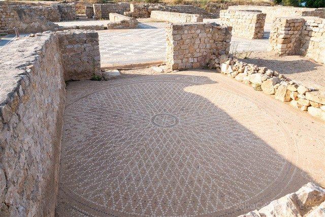 Ruinas de Empuries Ciudad Romana Mosaico