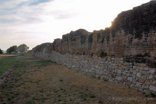 Ruinas de Empuries Ciudad Romana Muralla