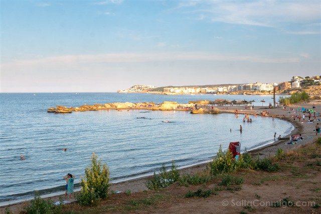Ruinas de Empuries Paseo Sant Marti Playa