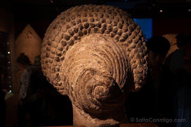 Termas Romanas de Bath Busto Mujer Peinado Trasera