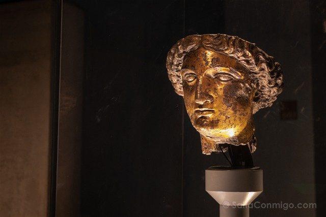 Termas Romanas de Bath Cabeza Diosa Sulis Minerva