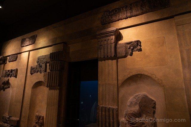 Termas Romanas de Bath Muro Templo