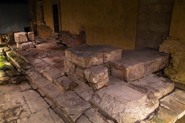 Termas Romanas de Bath Suelo Romano