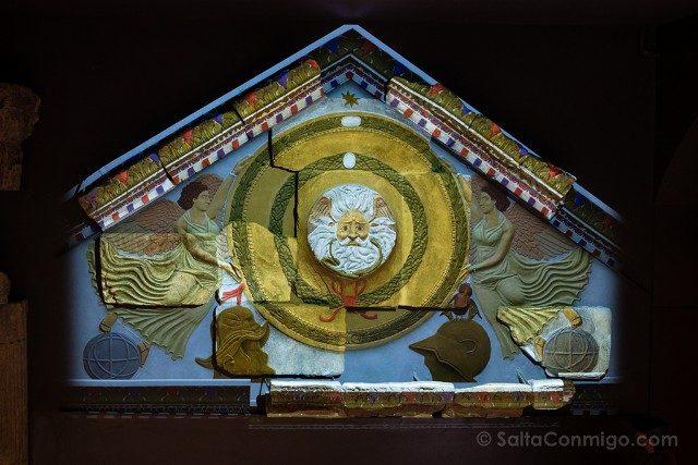 Termas Romanas de Bath Templo Sulis Minerva Iluminado