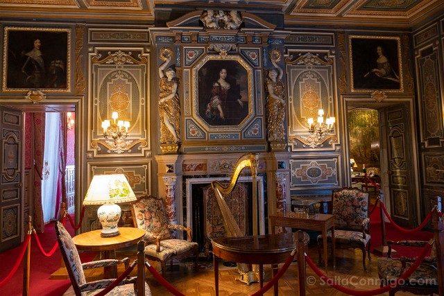 Castillo de Cheverny Valle del Loira Gran Salon