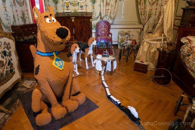 Castillo de Cheverny Valle del Loira Habitacion Scooby-Doo Lego
