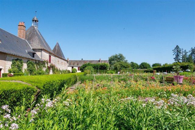 Castillo de Cheverny Valle del Loira Huerto