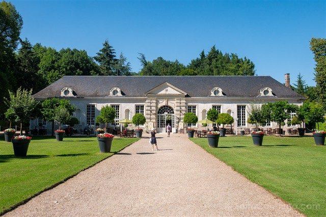 Castillo de Cheverny Valle del Loira Invernadero