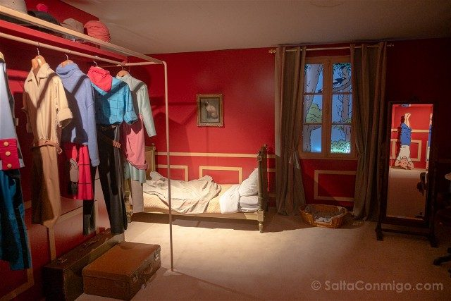 Castillo de Cheverny Valle del Loira Moulinsart Habitacion Tintin