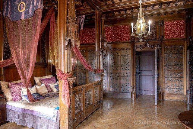 Excursiones desde Wroclaw Castillo de Czocha Hotel Habitacion