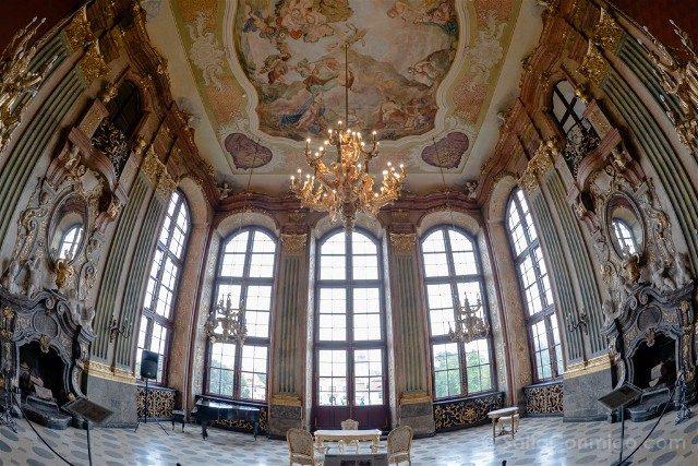 Excursiones desde Wroclaw Castillo de Ksiaz Interior