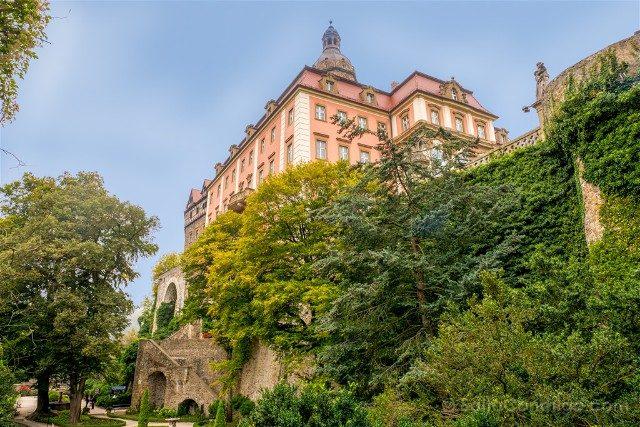 Excursiones desde Wroclaw Castillo de Ksiaz Jardin
