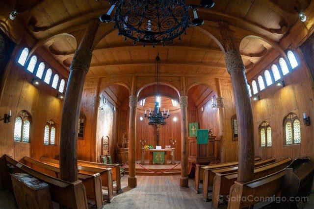 Excursiones desde Wroclaw Iglesia de Vang Interior Ojo Pez