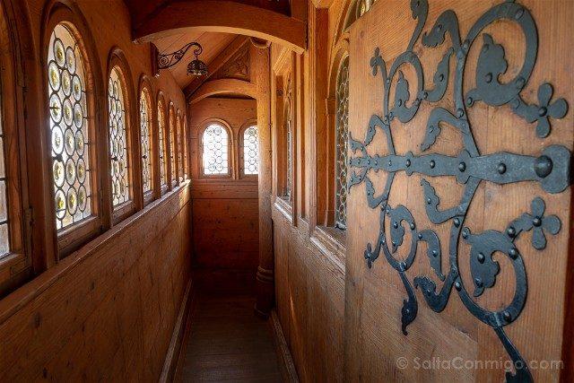 Excursiones desde Wroclaw Iglesia de Vang Interior