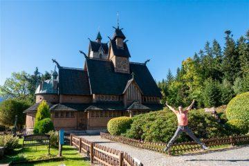 Excursiones desde Wroclaw Iglesia de Vang Salto