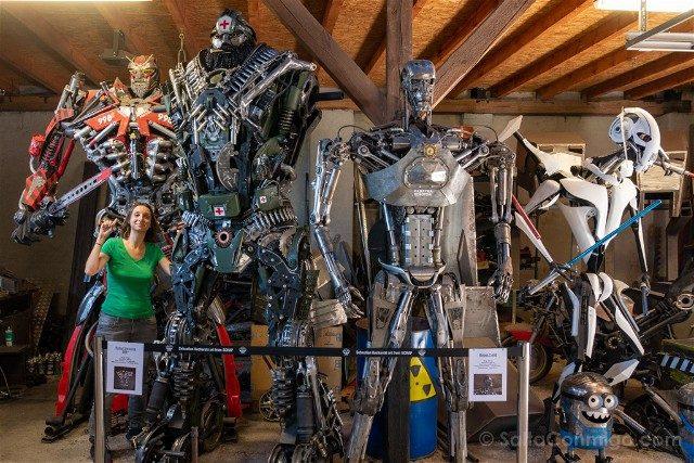 Excursiones desde Wroclaw Lacznik Fabrica Robots Sara