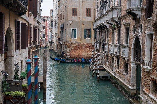 Fotos de Venecia Canal Pequeno