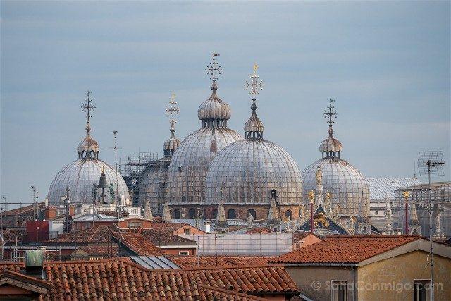 Fotos de Venecia Contarini del Bovolo Cupulas San Marco