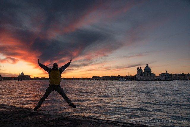 Fotos de Venecia Isola di San Giorgio Salto Atardecer