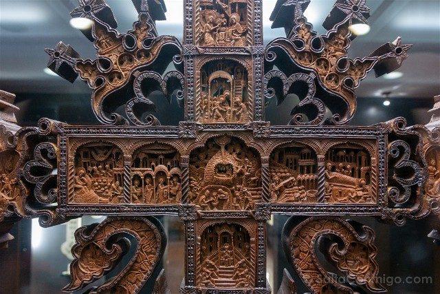 Monasterio de Rila Museo Eclesiastico Historico Cruz