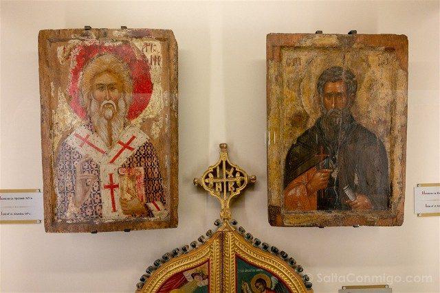 Monasterio de Rila Museo Eclesiastico Historico Iconos