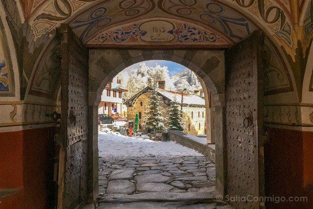 Monasterio de Rila Puerta Entrada