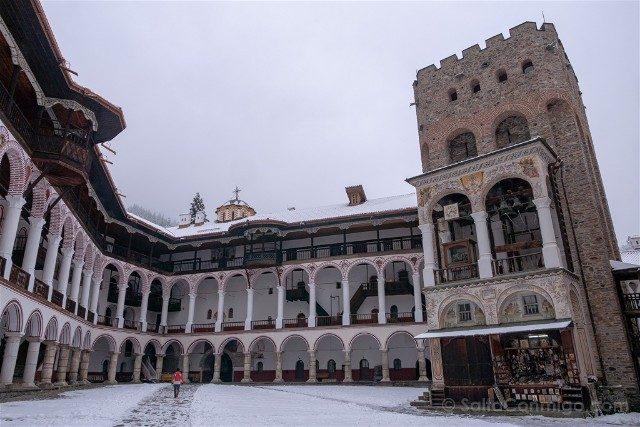 Monasterio de Rila Torre Hreliova